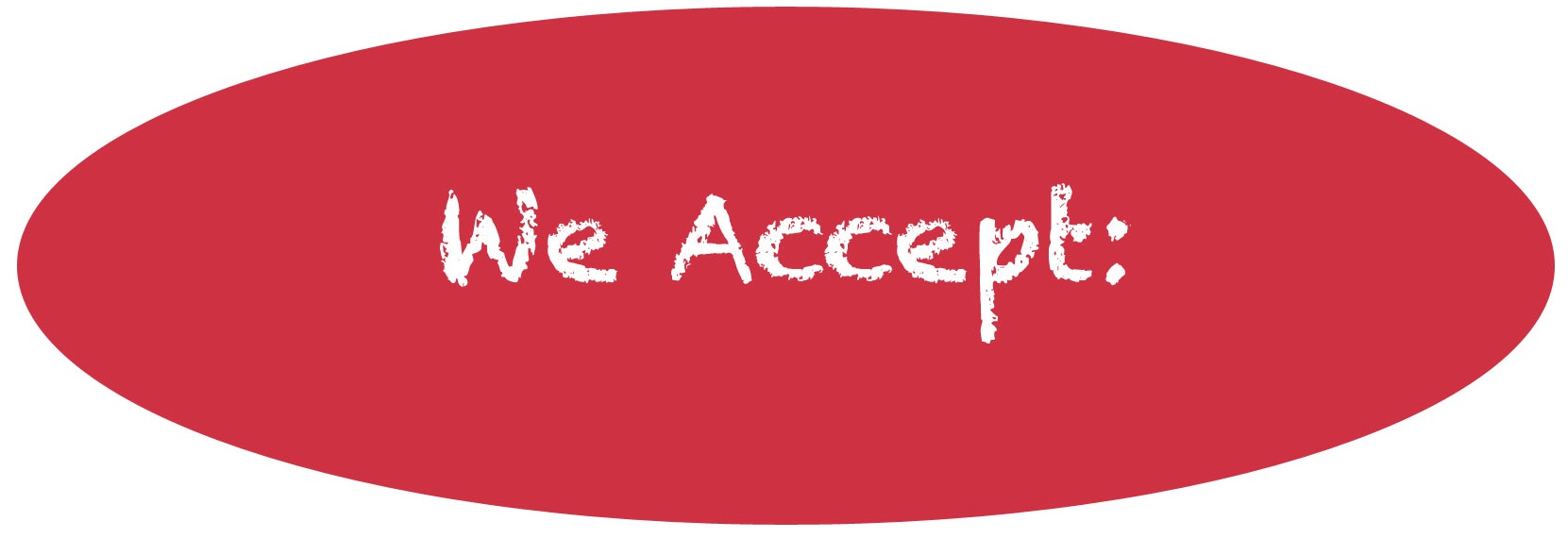 Image result for we accept