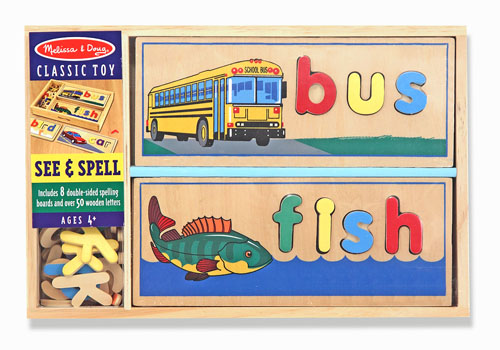 See and spell Melissa and doug